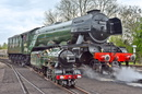 Flying Scotsman & Typhoon Reunited